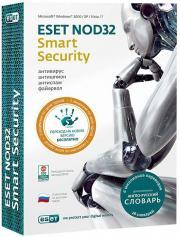 Eset NOD32 Smart Security 4.0 (на 3 ПК) / Cловарь Лицензия на 1 год (PC CD)