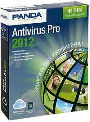 Panda Antivirus Pro 2012 Retail Box (на 3 ПК) (подписка на 1 год) / Казуальная игра в подарок (PC CD)