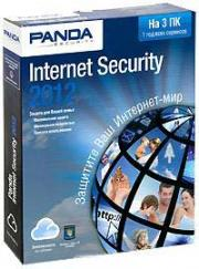 Panda Internet Security 2012 (на 3 ПК) Лицензия на 1 год (PC CD)