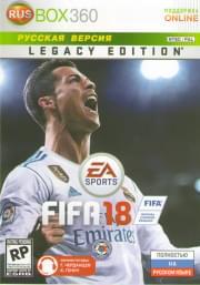 FIFA 2018 Legacy Edition (Xbox 360)