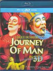 Cirque du Soleil Journey of Man 3D 2D (Blu-ray)